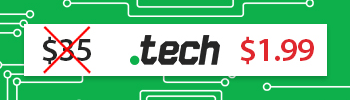 .TECH for $1.99