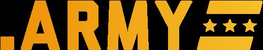.ARMY TLD logo