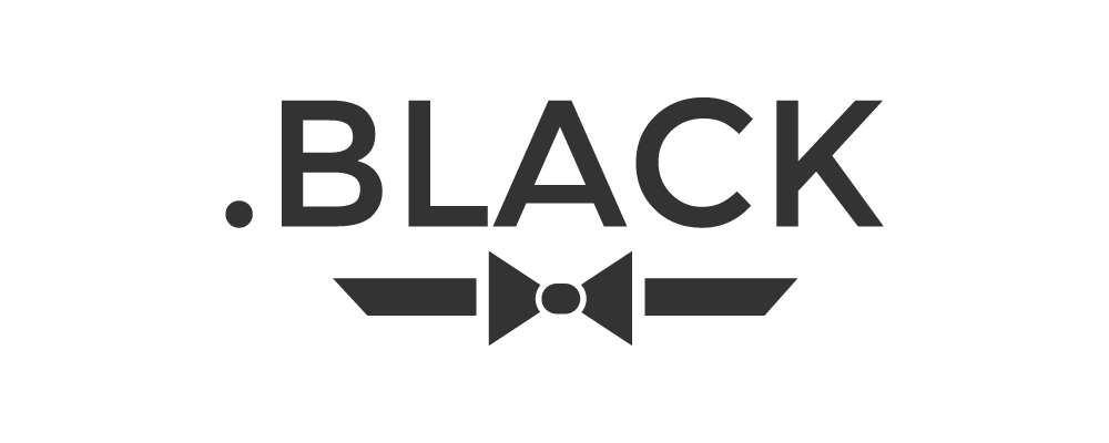 .BLACK TLD logo