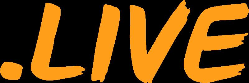 .LIVE TLD logo
