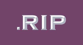 .RIP TLD logo